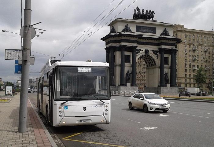 Электробус КАМАЗ-6282 протестирует «Ленинградская АЭС-Авто»