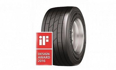 Шина для прицепов Conti Hybrid HT3 получила награду iF Design Award