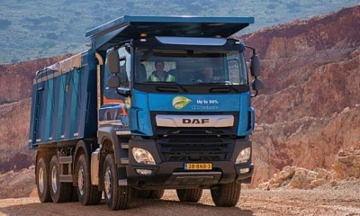 DAF CF Construction получил награду Top Bau Truck в Словакии